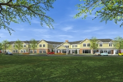 ASSISTED LIVING RENDERING FRONT VIEW