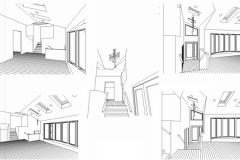 JERICHO RESIDENCE RENOVATION HIDDEN LINE DRAWINGS