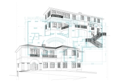NORTH SHORE RESIDENCE HIDDEN LINE DRAWINGS