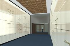 RENDERING - MAUSOLEUM INTERIOR - 1st Floor