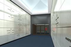 RENDERING - MAUSOLEUM INTERIOR - 2nd Floor