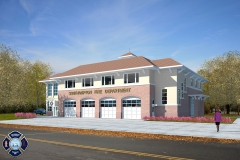 RENDERING - FIRE HOUSE